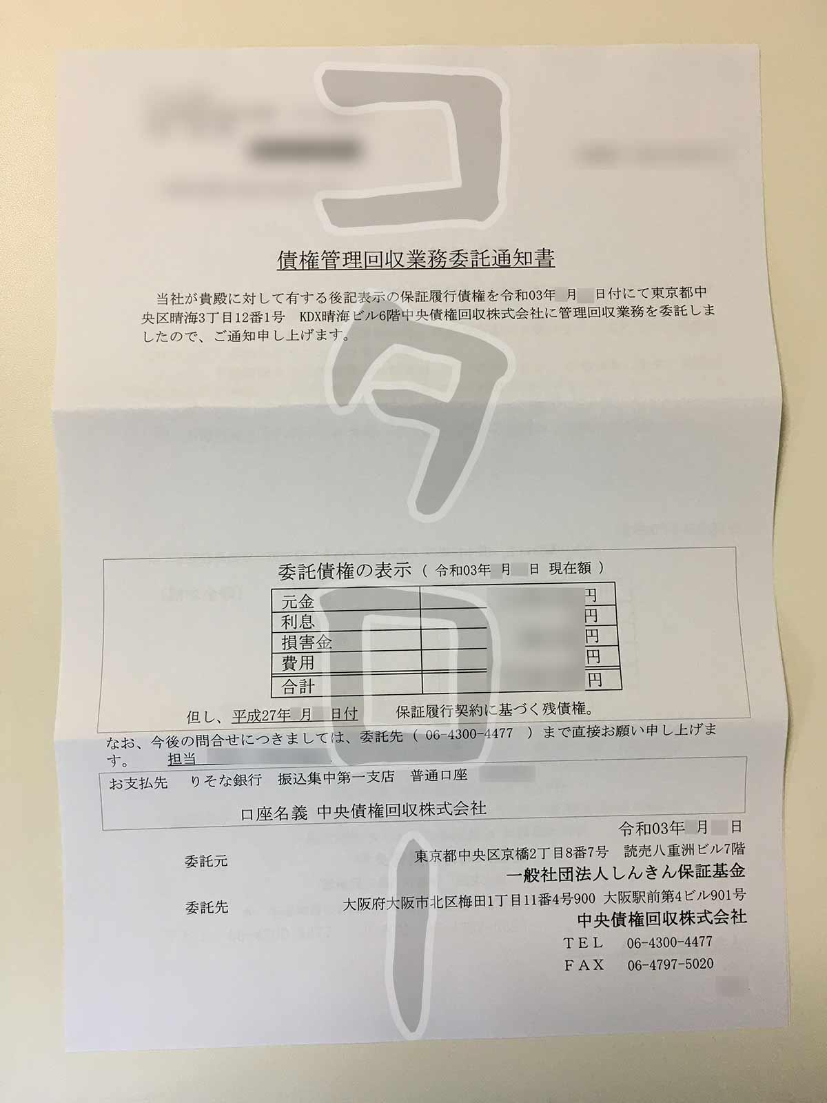 債権管理回収業務委託通知書-min